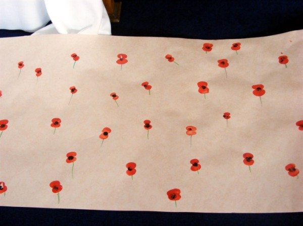 Remembrance poppy field 2