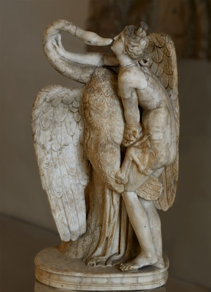 standing_Leda_Леда и лебедь. Мрамор. Римская копия конца эпохи Адриана оригинала аттической школы середины I