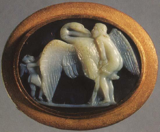 standing_Leda_Леда и лебедь, I век до н.э.
