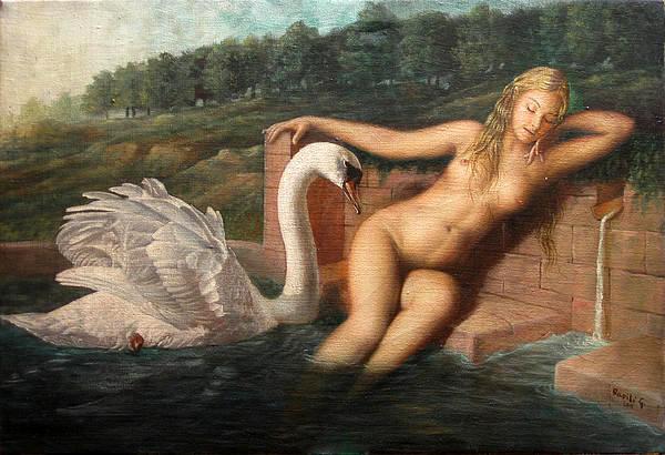 after_Leda_Leda And The Swan By Gilbert Thomas