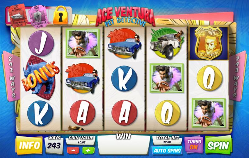 Ace Ventura слот