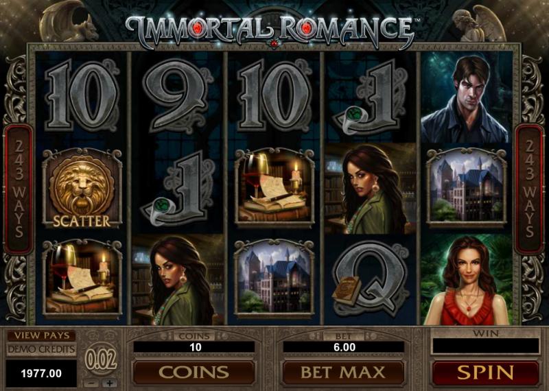 Immortal Romance игровой слот
