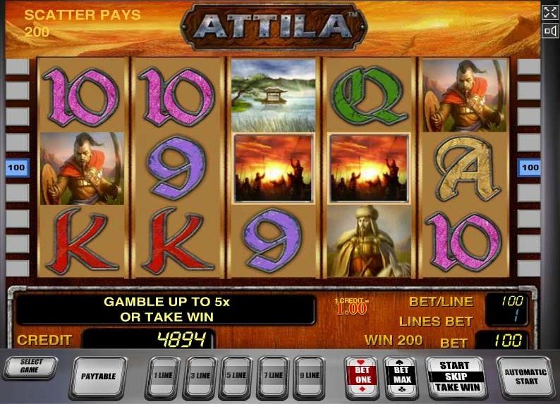 Attila слот