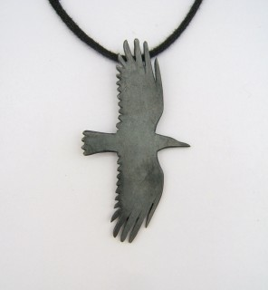 Crow pendant