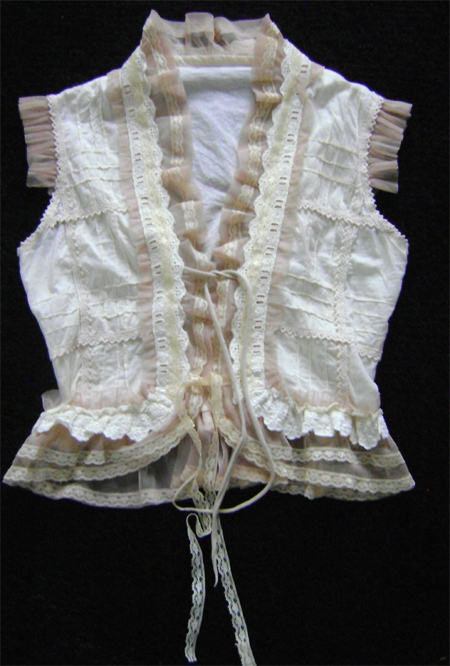 steampunk cotton lace ruffles bolero