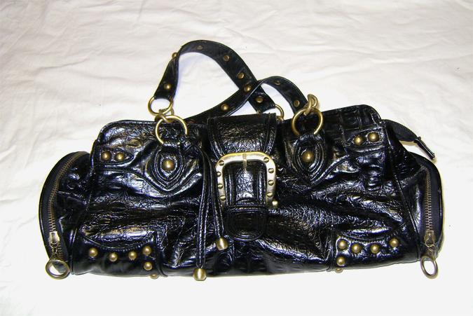 steampunk style handbag
