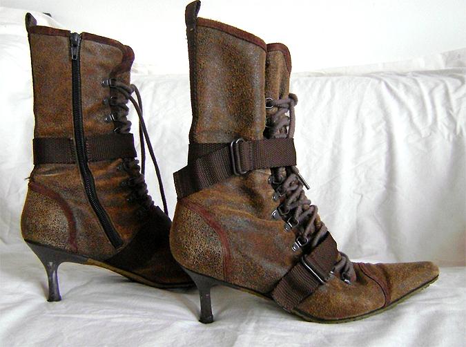 diesel steampunk boots side