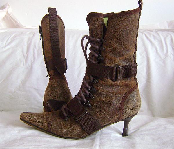 diesel steampunk boots