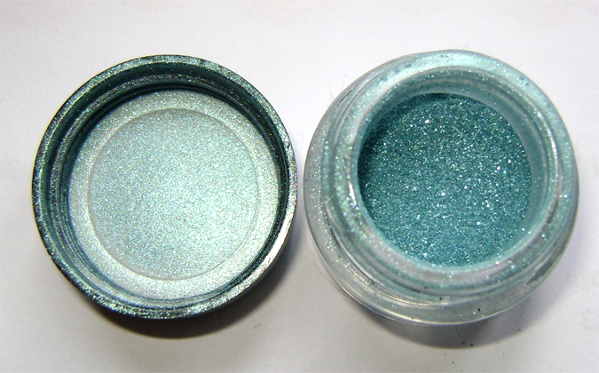 barry m turquoise pigment
