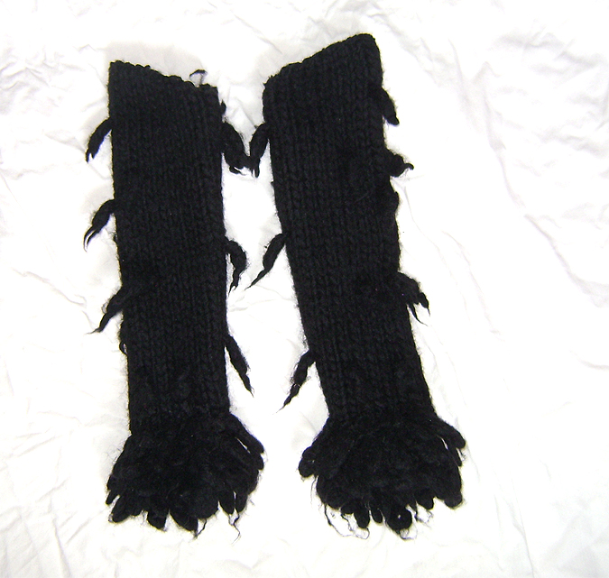 wool arm warmers