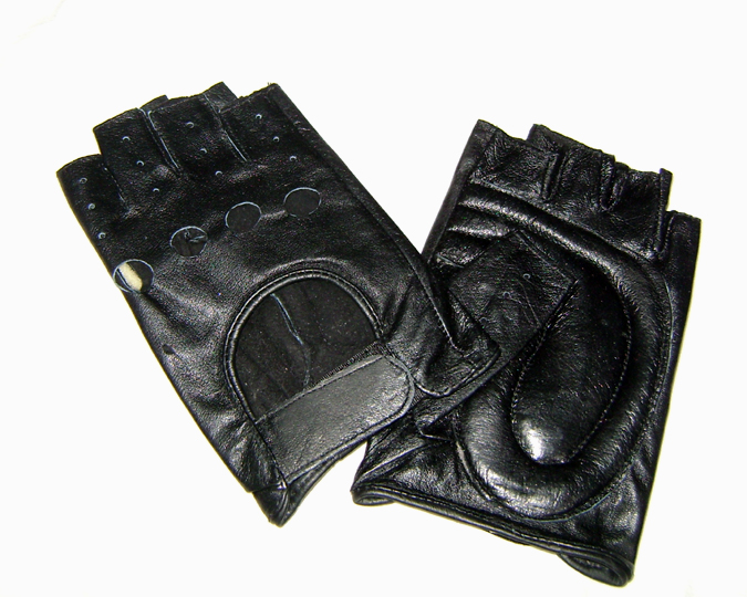 fingerless gloves blk