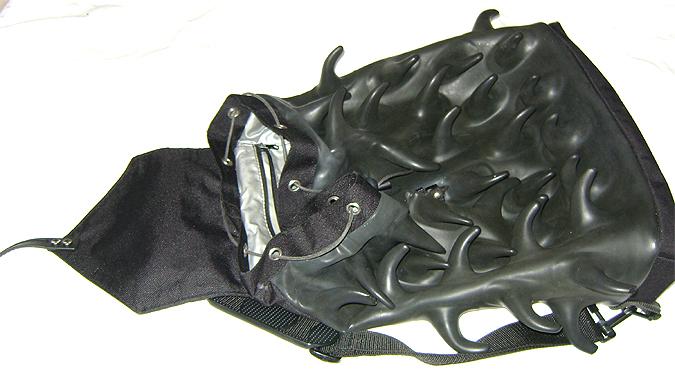 bug rucksack inside