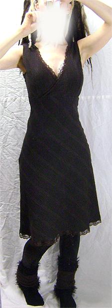 vintage tartan  dress on 2