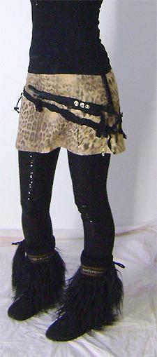 scavenger skirt on