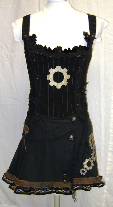 steampunk apocalypse outfit front