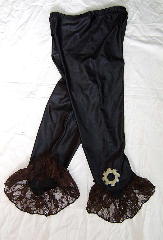 steampunk gear legging 2