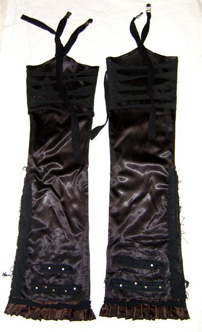 steampunk detachment boot covers