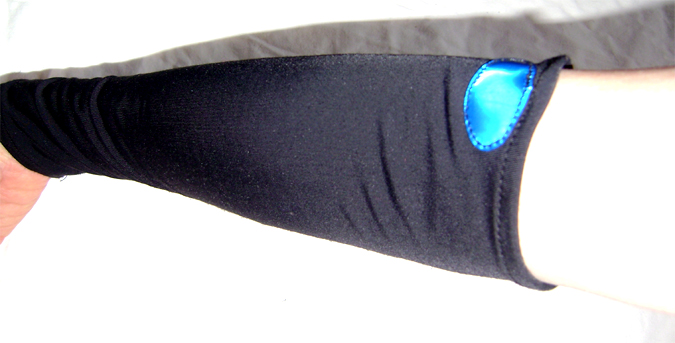 cyber arm warmers blue eye on