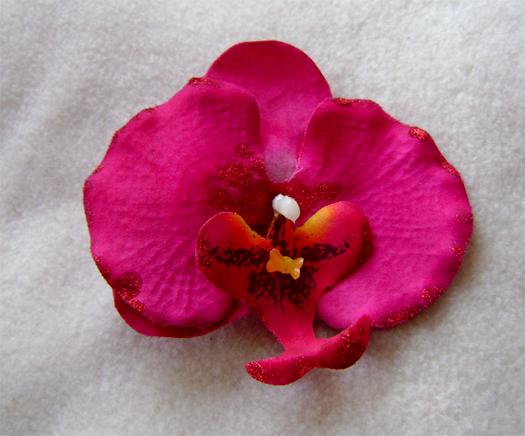 fuchsia hair orchid