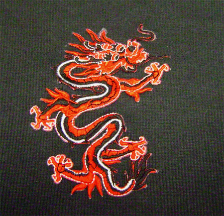 dragon top detail