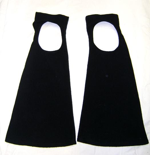 fleece overknee bootcovers