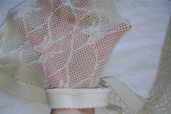 beige pantie lace