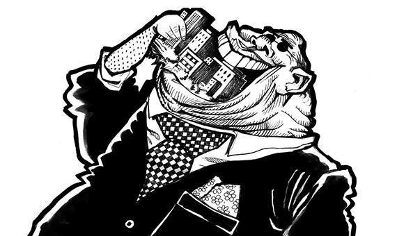 privatization cartoon