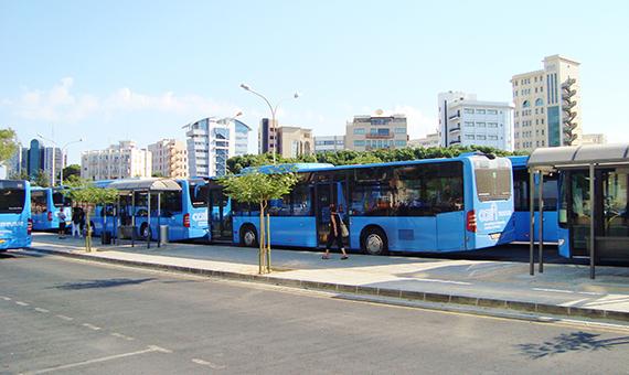 Nicosia_public_blue_buses_in_Solomos_Square_station_Republic_of_Cyprus