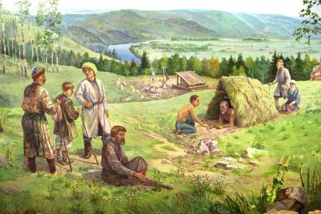 Беркутова гора. Вторая половина XVIII века.