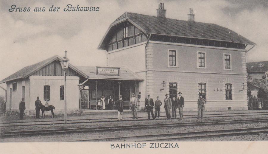 Zuczka - Bahnhof