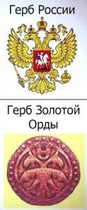 Гербы Орды и России_800