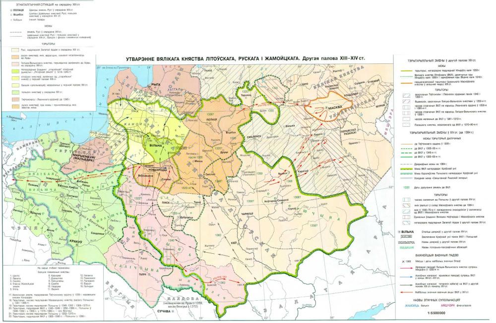 Мапа ВКЛ