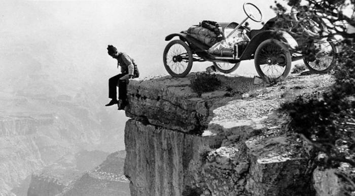 The Grand Canyon in 1914.