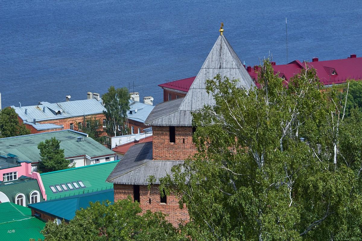 Нижний Новгород - Виды со стен Нижегородского кремля