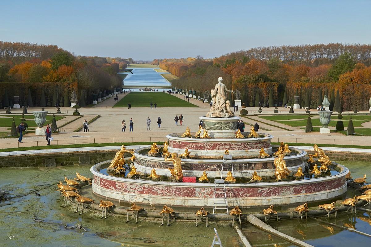 Париж 2018 - Версаль - Фонтаны