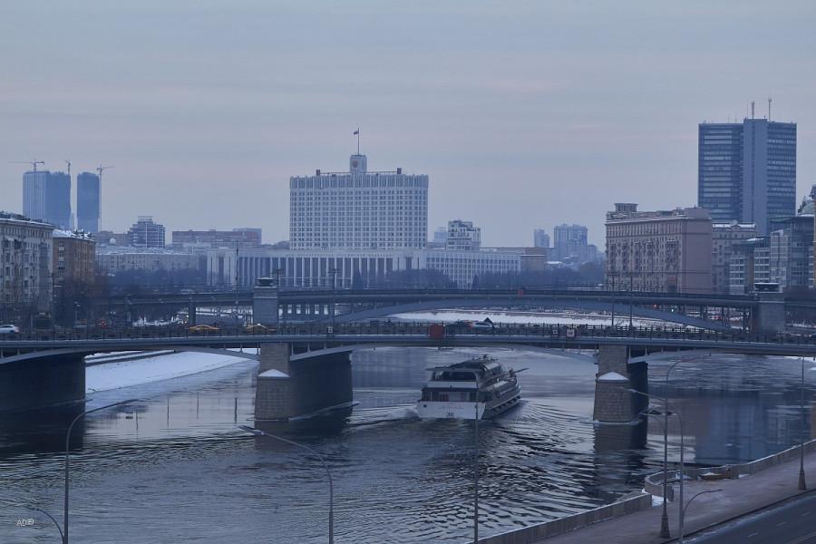 Москва - Виды со смотровой площадки на Ростовской наб.
