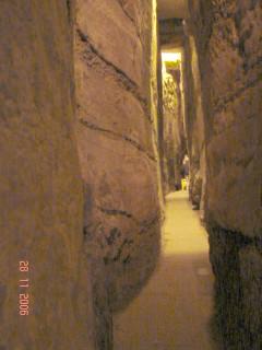 Подсветка в туннеле Хасмонеев