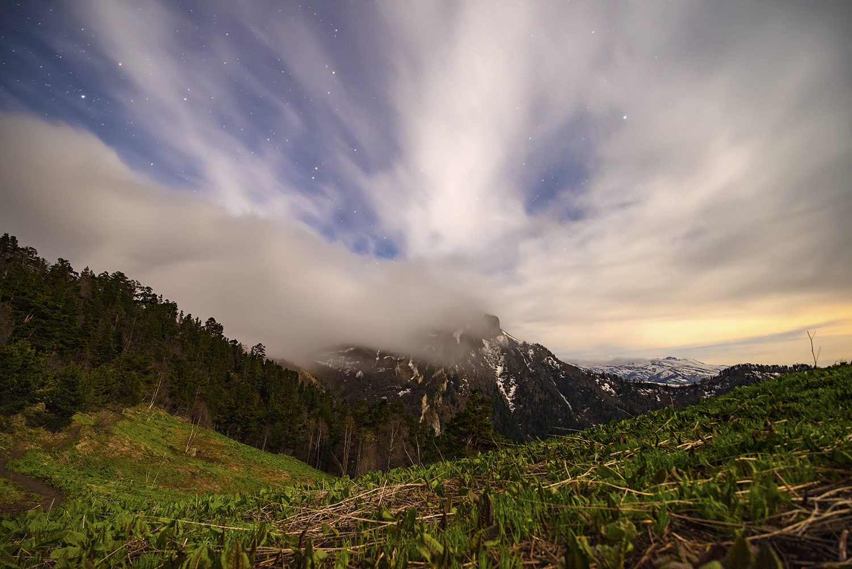 Поход к Большому Тхачу или исполнение мечты. 1. Большой, около, можно, Малый, горный, высоты, местах, только, настолько, Адыгеи, пешком, километров, Краснодарского, облака, некоторых, Ветреный, Дойдя, вдоль, котором, километра