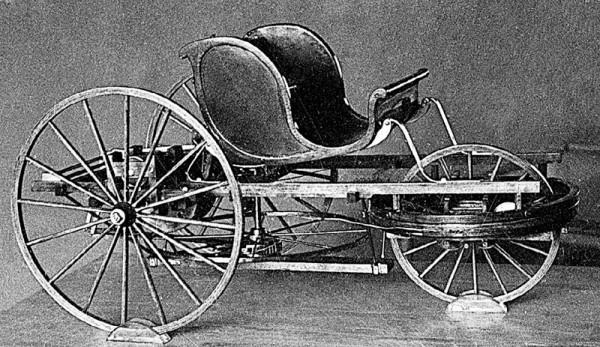 5а.Самобеглая коляска Кулибина