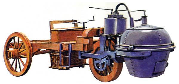 6.Паровой экипаж Куньо - 1