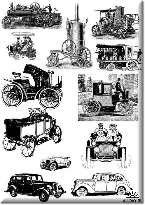7а.Автомобили и паровые машины