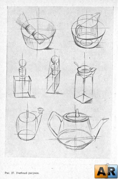 2.Построение предметов