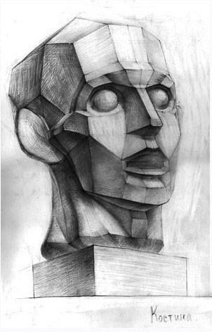 Как научиться рисовать тени карандашом на лице