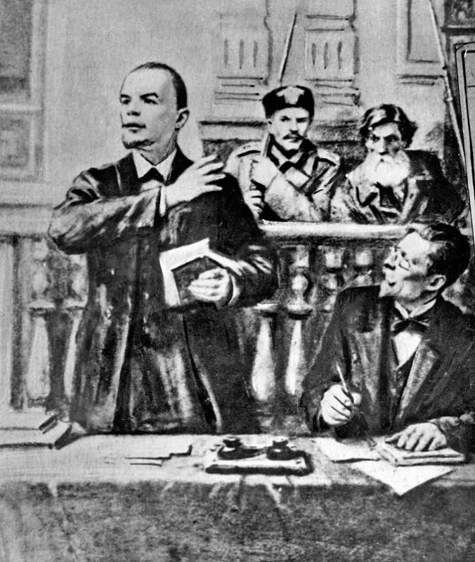 Присяжный поверенный Ульянов за работой