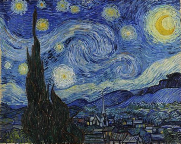 Ван Гог - Звездная ночь