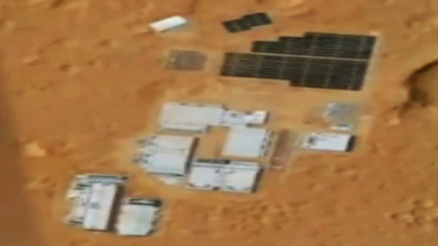 Секретная база на Марсе (ВИДЕО)
