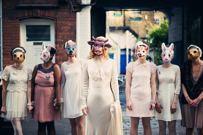 Maskenball als Hochzeitsfeier