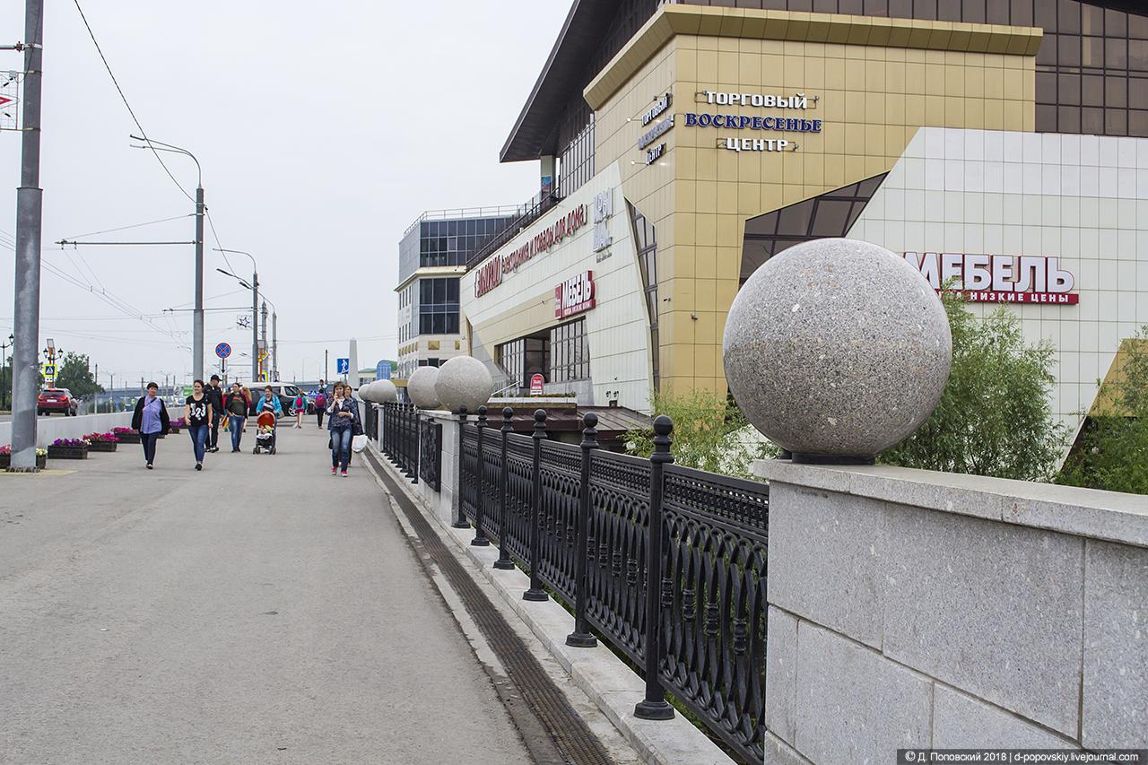 Проспект Ленина. Мост через Барнаулку