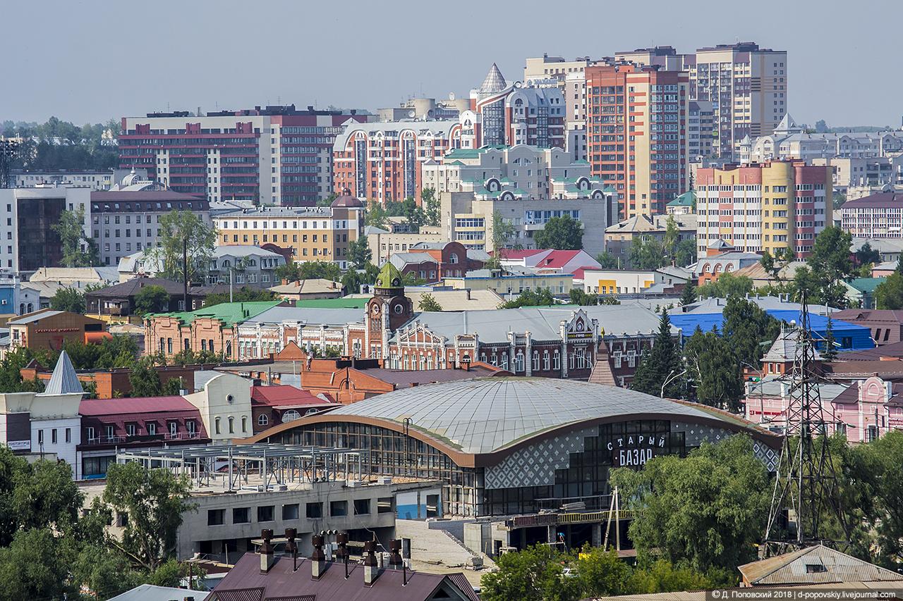 Вид из Нагорного парка