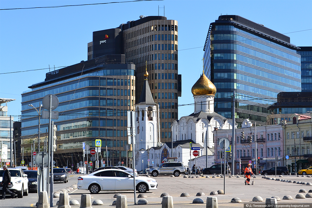 Площадь Тверская застава